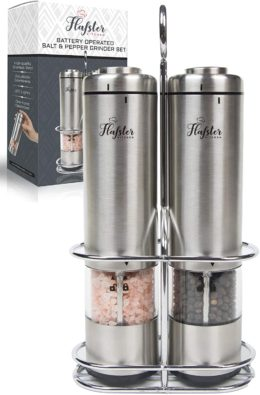 FLAFSTER KITCHEN Electric Pepper Grinders