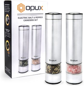 OPUX Electric Pepper Grinders