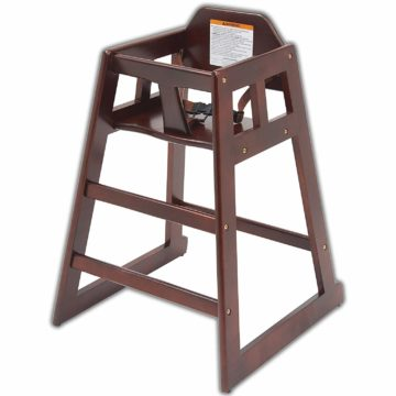 HeroFiber Best Wooden High Chairs