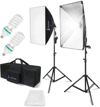 Julius Studio Best Softbox Lighting Kit