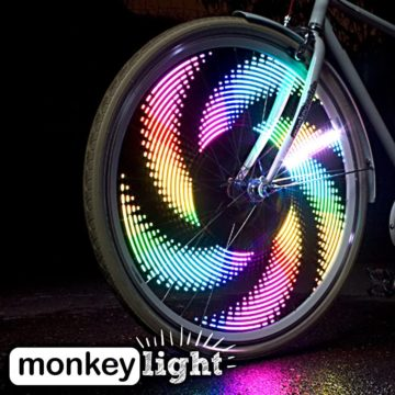 MonkeyLectric Best Bike Wheel Lights