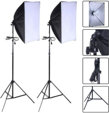 Safstar Best Softbox Lighting Kit