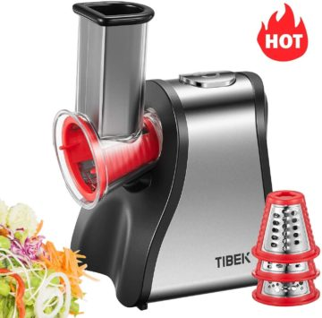 TIBEK Best Electric Cheese Graters