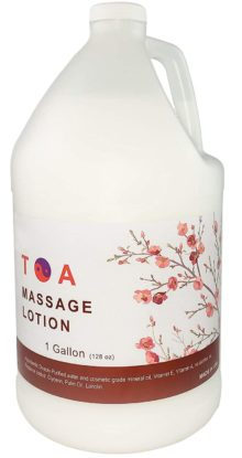 TOA Supply Massage Lotions