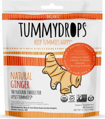tummy drops Ginger Candies