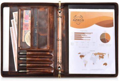 AZXCG Best Leather Padfolios