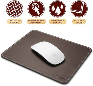 INSTEN Best Leather Mouse Pad