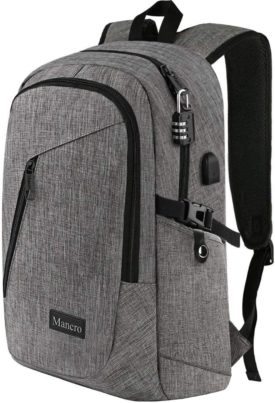 Mancro Best Anti-Theft Backpacks