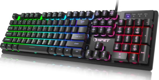NPET best backlit keyboards