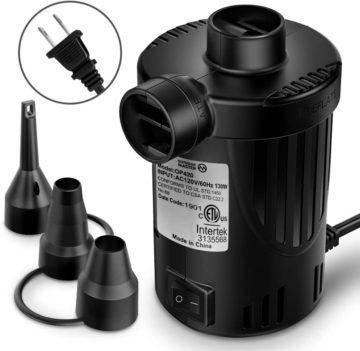 OutdoorMaster Best Air Mattress Pumps
