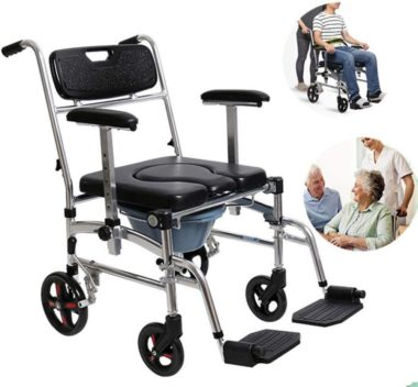 WuLien Best Rolling Shower Chairs