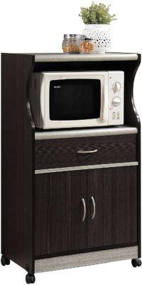 Hodedah Import Best Microwave Carts