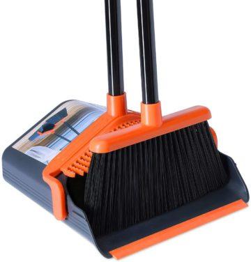 KEDSUM Best Broom and Dustpan Sets