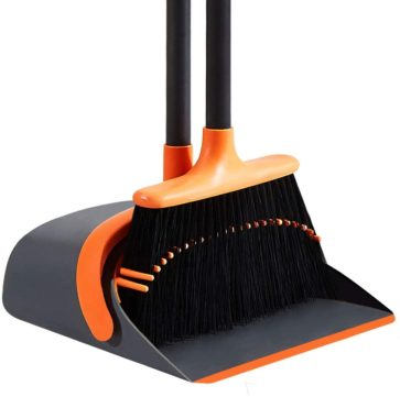 SANGFOR Best Broom and Dustpan Sets