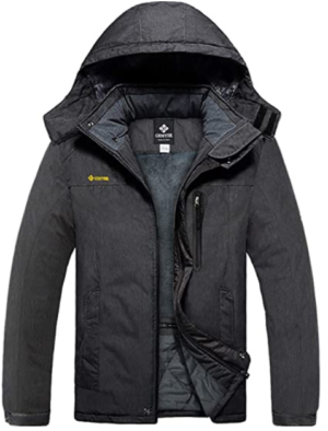 GEMYSE Winter Jackets For Men