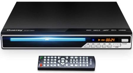 Gueray Best Compact DVD Players