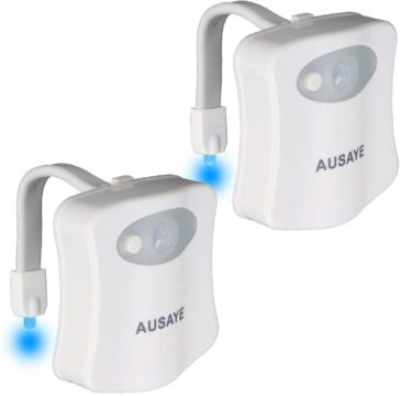 AUSAYE Best Toilet Bowl Lights
