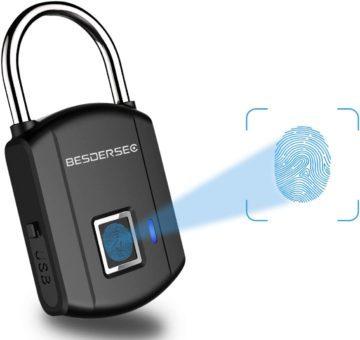BESDERSEC Best Fingerprint Padlocks
