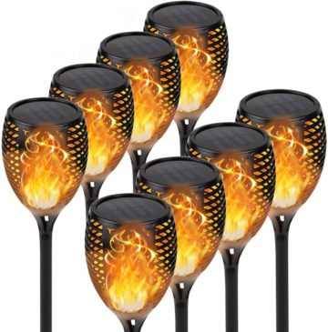 KYEKIO Best Solar Torch Lights