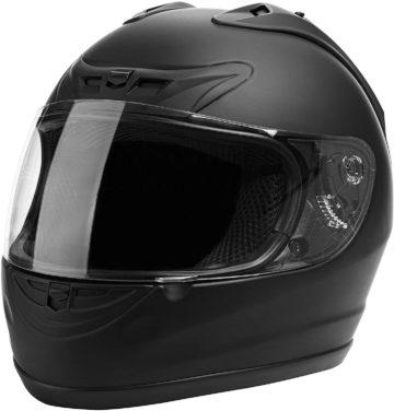 CARTMAN Matte Black Motorcycle Helmets
