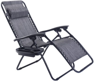Goplus Best Folding Lounge Chairs