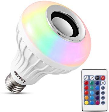 LightMe Best Bluetooth Light Bulb Speakers