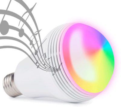 QiLi Best Bluetooth Light Bulb Speakers