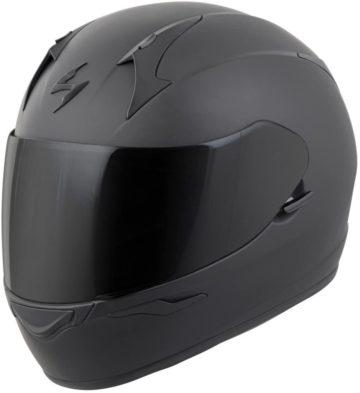 Scorpion Matte Black Motorcycle Helmets