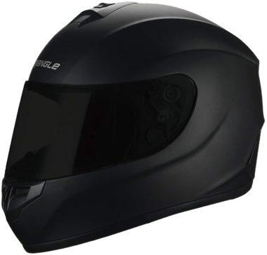 TRIANGLE Matte Black Motorcycle Helmets