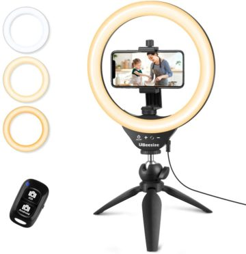 UBeesize Best Ring Lights with Stand